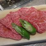 塩焼肉 二郎 - 上カルビ 1,300円