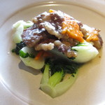 Chainizugadenresutoranshinki - 季節野菜と牛カルビの炒め