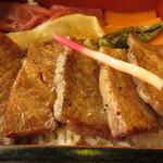 せんなり亭近江肉 橙 - 三角バラ肉が80g