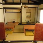 せんなり亭近江肉 橙 - 2階の座敷席でいただきました。
