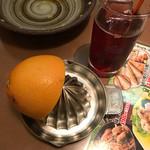 つぼ八 - カシスと生グレープフルーツ
