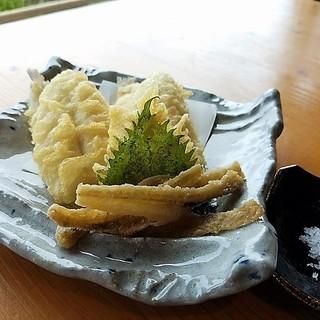 伊豫水軍 - 料理写真:キスの天ぷら