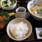 一休 - ランチ・神戸牛メンチカツ御膳