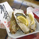 地下の粋 - 浦村の牡蠣
