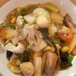 Taishinchuukaryouriten - 五目やきそば(柔らか麺)950円