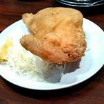 せきとり - 新潟名物 鶏の半身揚げ(カレー味)