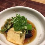 四季香るダイニング たきざわ - 揚げ出し豆腐