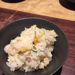 四季香るダイニング たきざわ - アサリご飯