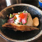 まぐろや 柳橋 - 極上海鮮丼1500円税別