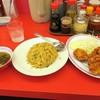 ラーメン魁力屋 - 料理写真:焼きめし(並)500円+税と唐揚げ(5ヶ)450円+税