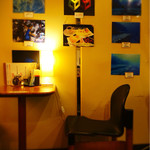 ボン - 海中の写真が飾られていました。