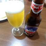 ヒマラヤン食堂 - ドリンク写真:ネパールビールです