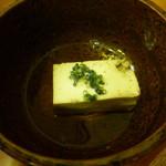 和もと - 豆腐煮物