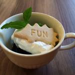 綴cafe - ほの香さんの珈琲のコーヒーゼリー
