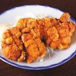 ます家 芝大門店 - バリチキ〜鶏の一枚唐揚げ〜