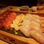 千の庭 - お寿司盛り合わせ