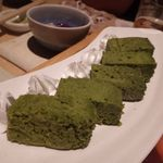 千の庭 - しっとり宇治抹茶ケーキ