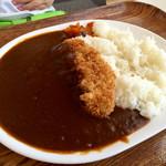 ウッドランドカフェ - ロースカツカレー…1300円(大盛+300円)