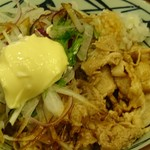丸亀製麺 - 豚しゃぶぶっかけ(並)