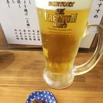 手打そば 三咲 - 生ビールとそば味噌