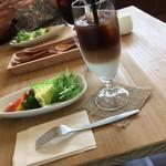 カフェ自休自足 - 温野菜サラダ