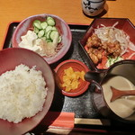 Sakurakouji - 元祖 冷汁定食  チキン南蛮付き