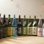 日本酒バー オール・ザット・ジャズ - 店主が舌と足で探した銘酒の数々