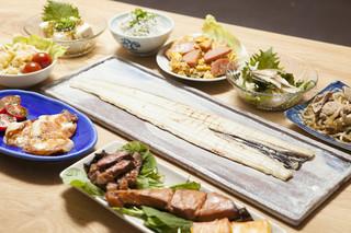 日本酒バー オール・ザット・ジャズ - プレミアムコースの料理一例