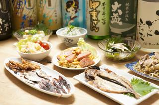日本酒バー オール・ザット・ジャズ - スタンダード宴会コース(3時間、料理7品食事付き、店主選りすぐりの日本酒を順次ご提供)お一人様5400円