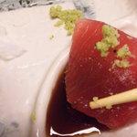 喜久屋 - マグロの刺身です。