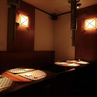 時間を忘れる『テーブル席』