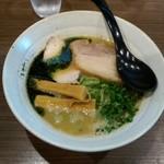 らーめん功喜 - 料理写真:青さ塩ラーメン