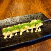 豚バラネギ味噌串