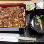 69744827 - 鰻重 特上 関西風(¥3,600)