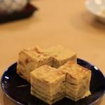 寿司はしもと - 玉子焼き