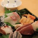 寿司はしもと -  お刺身盛り合わせ