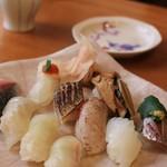 吉乃寿司 - 地魚握り1人前(4000円)