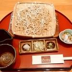 蕎麦食彩 さいとう - 料理写真:蕎麦食彩 さいとう@南大塚 ざるそば