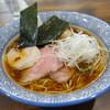 麺処清水 - 料理写真:鶏出汁醤油特製らーめん中盛り1000円