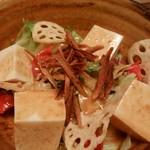 KICHIRI - ゴボウ豆腐サラダ