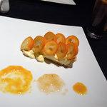 銀座Berry cafe  - 宮崎県産完熟金柑たまたまエクセレントのタルト