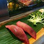 名古屋のすし勘 - 脂身も最高のマグロは絶品