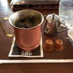 昔ながらの喫茶店友路有 - アイスコーヒーはラージに