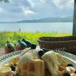 アトリエプティカ - 料理写真:ワッフルセット