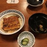 69750863 - お昼限定30食のうな丼+お吸い物('17/07/08)