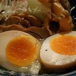 和風楽麺 四代目 ひのでや - 煮玉子・穂先メンマ