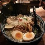 和風楽麺 四代目 ひのでや - はまぐりラーメン全部乗せ(税込980+500円)
