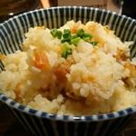 和風楽麺 四代目 ひのでや - ホタテご飯(200円)