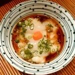 海の幸 美味 - 海の幸 美味@みろく横丁(本八戸) タコ卵と白子
