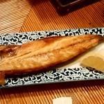 海の幸 美味 - 海の幸 美味@みろく横丁(本八戸) サバ一夜干し